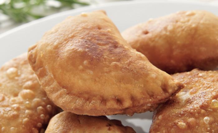 fried scallop empanadas