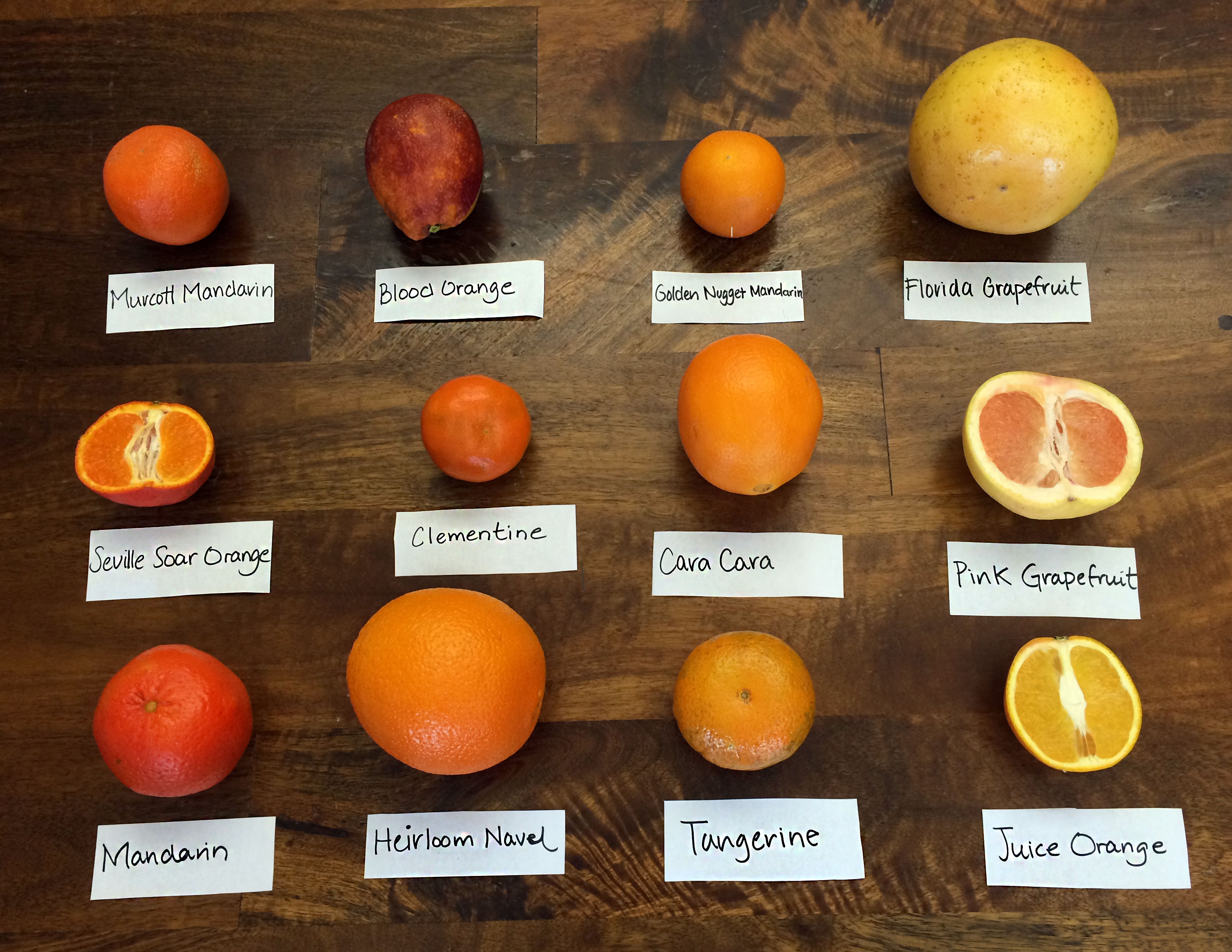 know these 12 citrus varieties and when they are in season food republic. Black Bedroom Furniture Sets. Home Design Ideas
