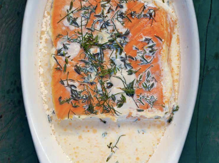 Pair your salmon with a rich and herb-infused sauce for a true winner. (Photo: Jennifer McGruther)