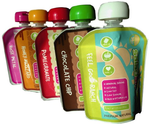 Chocolate chip is among Saladshots' signature salad dressing flavors.