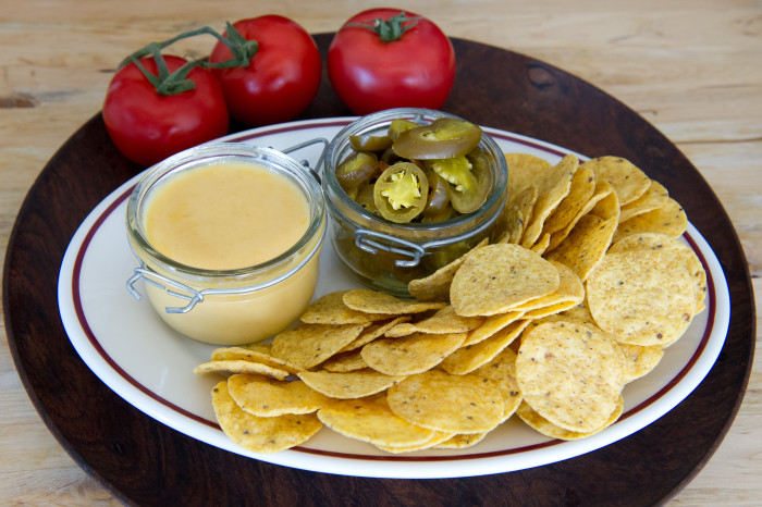 nacho cheese with beer