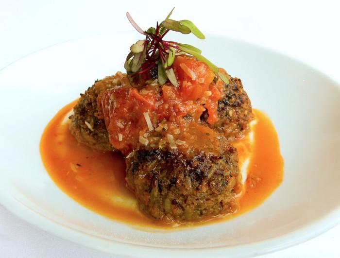 Lowcountry Vegetarian: Blossom's Golden Beet Meatballs Recipe