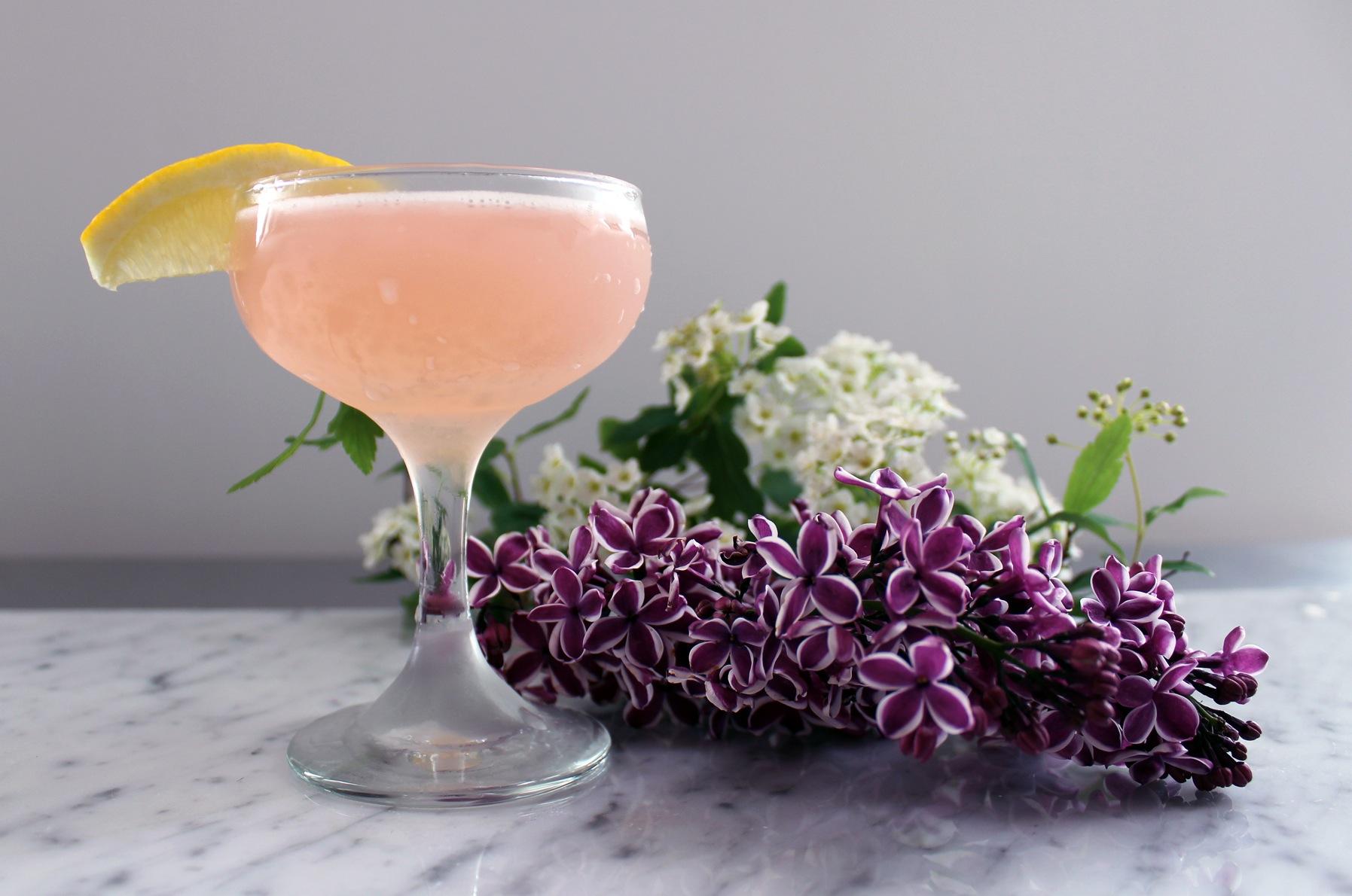 Cardamom Blush Cocktail Recipe