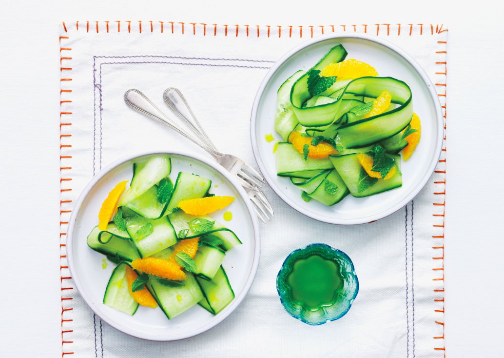 Sweet Cucumber And Orange Salad Recipe