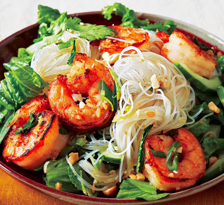 Grilled Vietnamese Shrimp Noodle Bowl Recipe - Food Republic