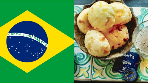 Brazilian Portuguese food words