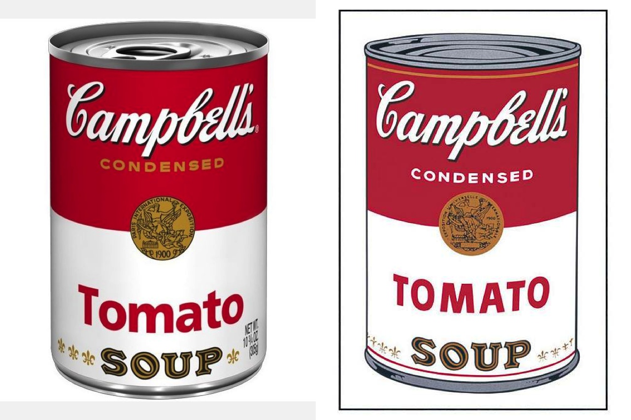 an analysis of pop art in andy warhols cambells soup can painting Andy warhol campbells soup  andy warhol framed pop art 18x15 campbell's soup can, 1965  kids' drawing & painting supplies.