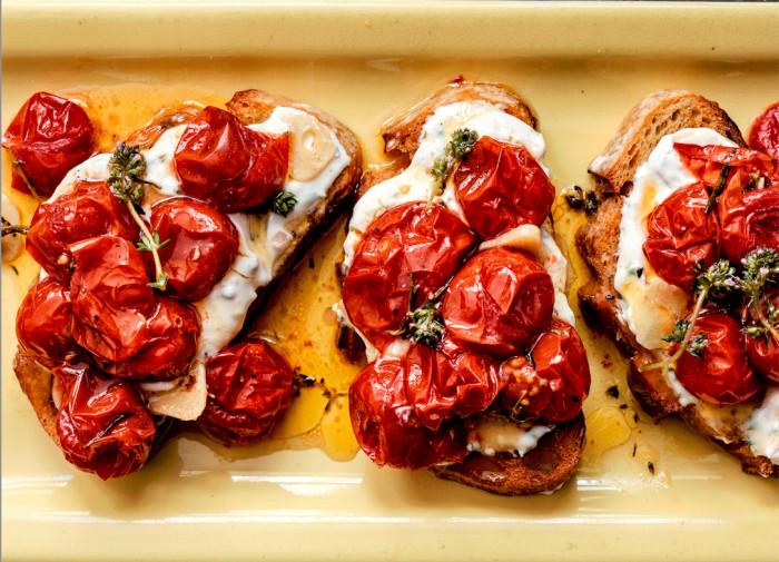 cherry tomato crostini recipe
