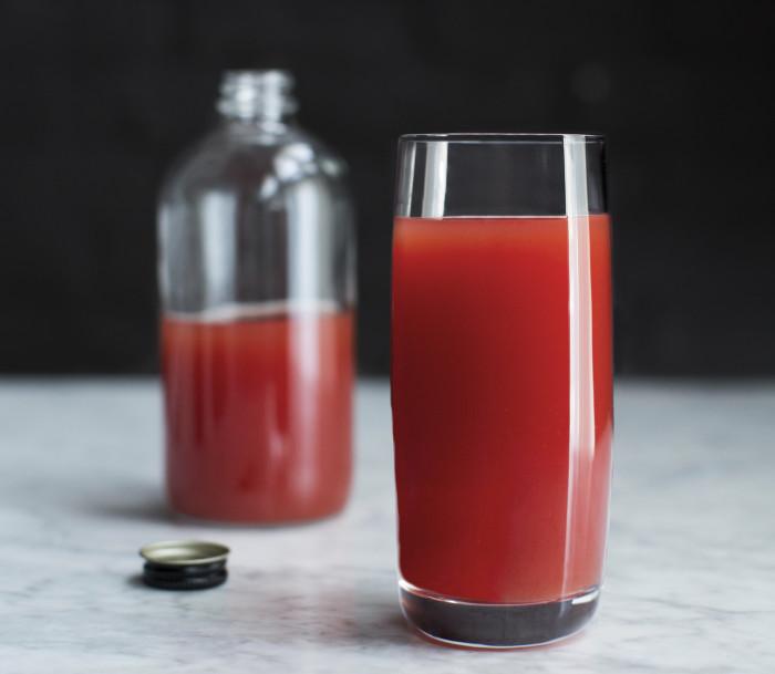 Tomato, Watermelon And Lime Juice Recipe