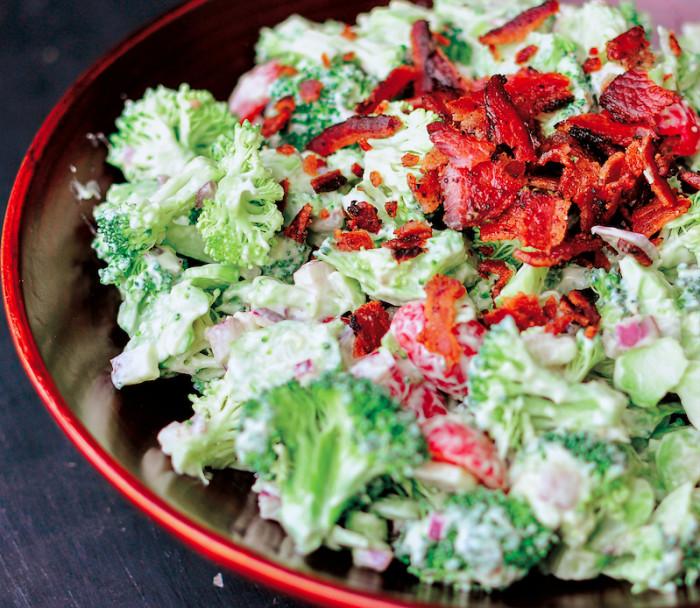 avocado and broccoli salad