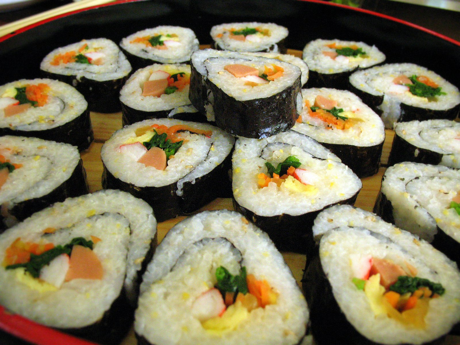 Get to know kimbap the korean answer to japanese sushi rolls get to know kimbap the korean answer to japanese sushi rolls food republic forumfinder Choice Image