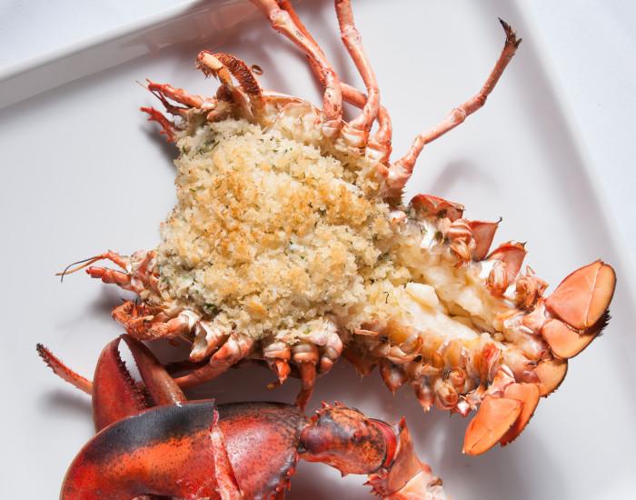 Ben Pollinger's Crab-Stuffed Roasted Lobster Recipe
