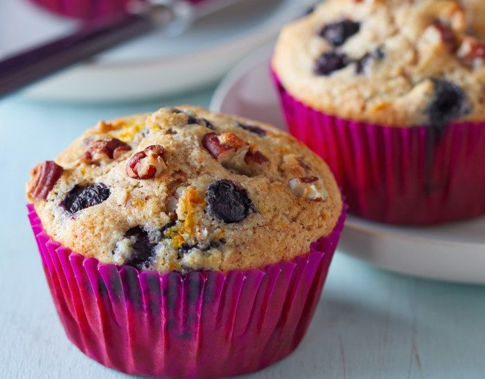 These muffins will warm your kitchen up.