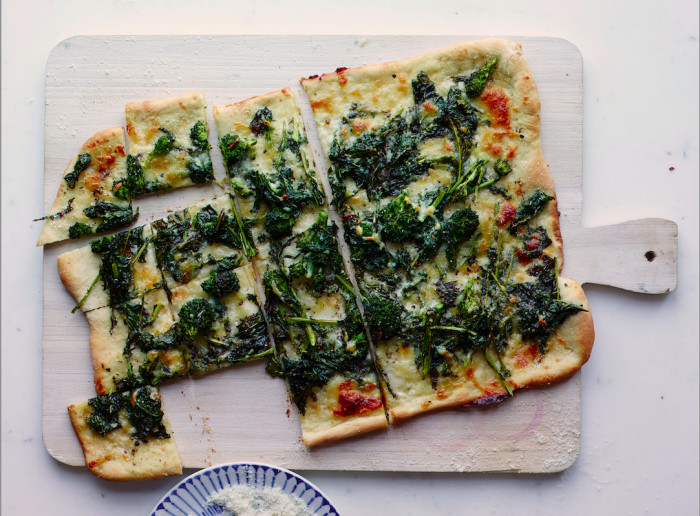 A Totally Foolproof Broccoli Rabe Pizza Recipe