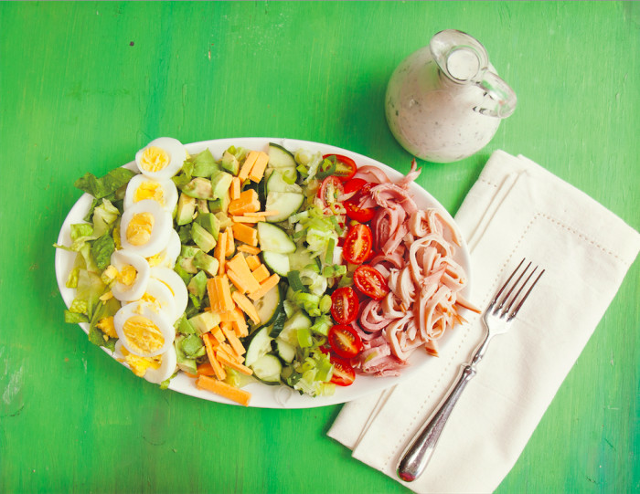 Chef's Salad With Kefir Ranch Recipe