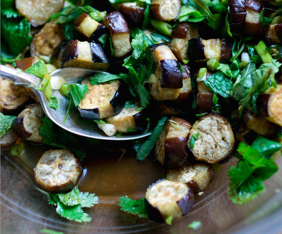 Thai-Style Eggplant Salad Recipe