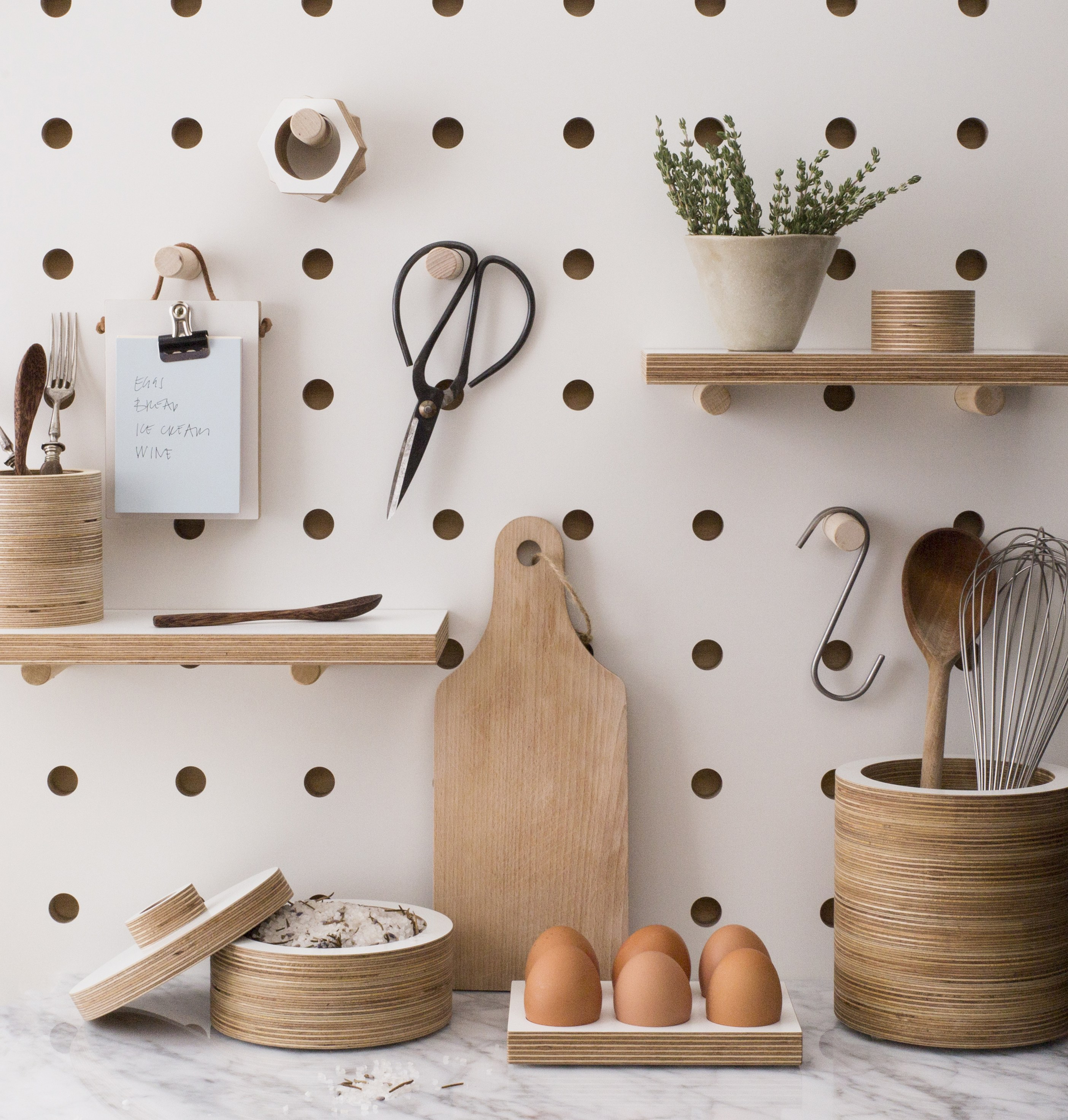 superb Using Pegboard In Kitchen Part - 17: Food Republic
