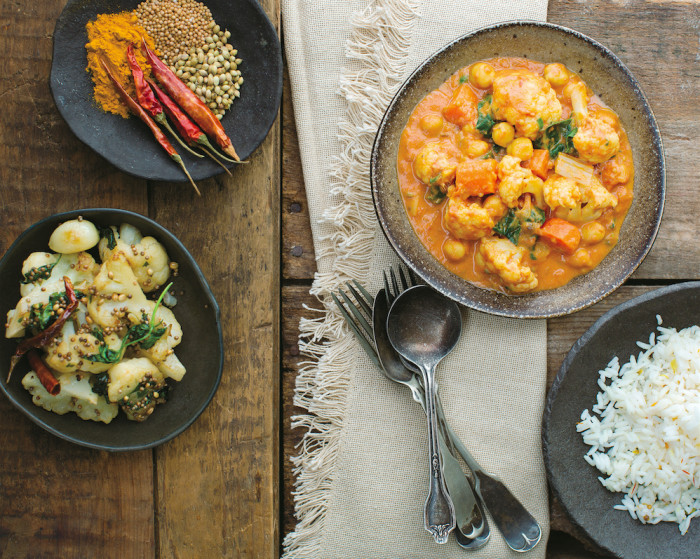This sumptuous, fragrant curry is packed with healthy ingredients and low in fat.