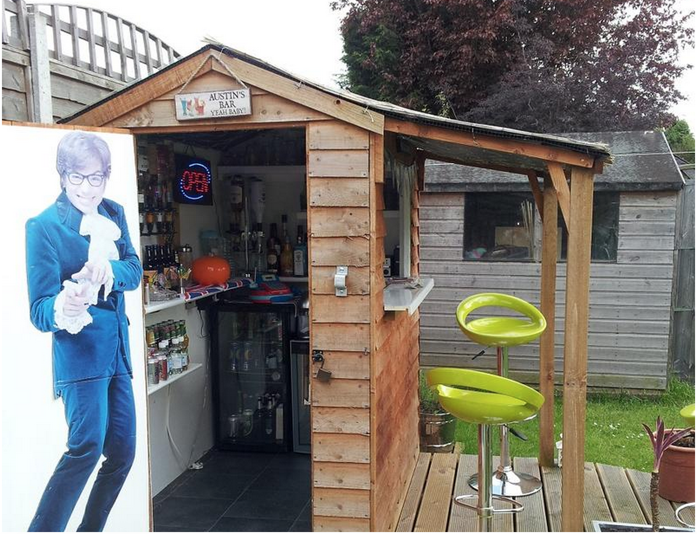 Small Man Cave Shed : Is america ready for a bar shed invasion food republic