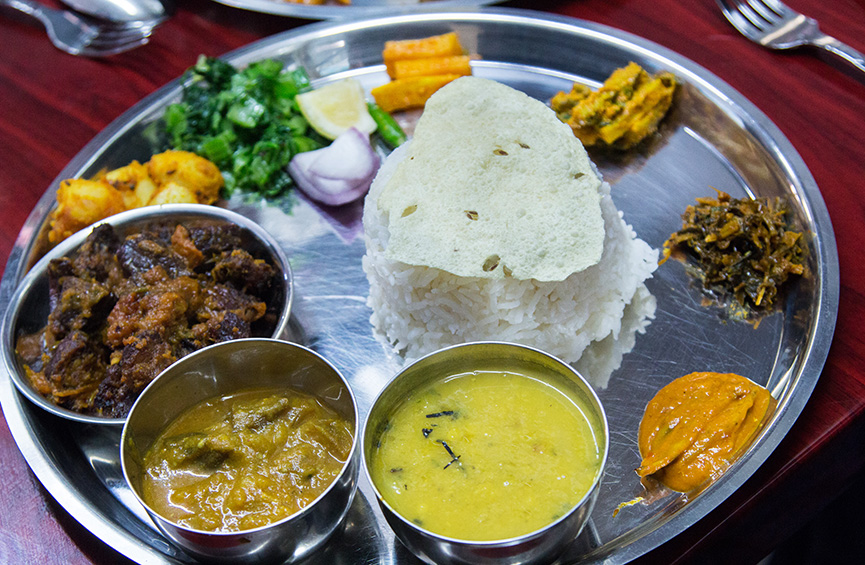 Where to eat great tibetan nepalese and bhutanese food in for Cuisine of nepal
