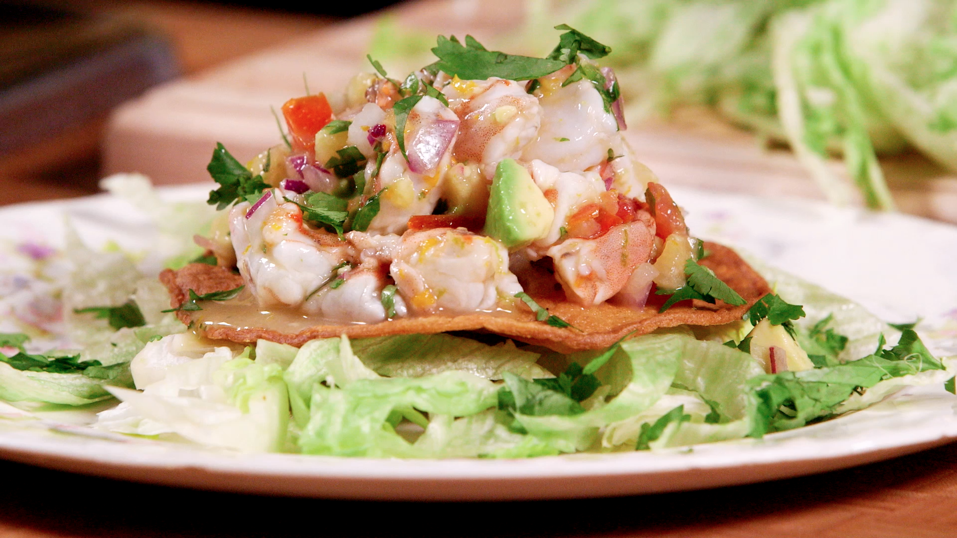 Shrimp Ceviche Tostada Recipe - Food Republic