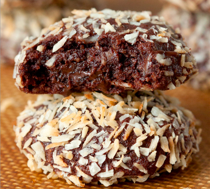 quinoa coconut chocolate cookies