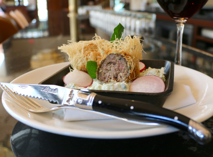 Roll up some lamb meatballs for Easter.