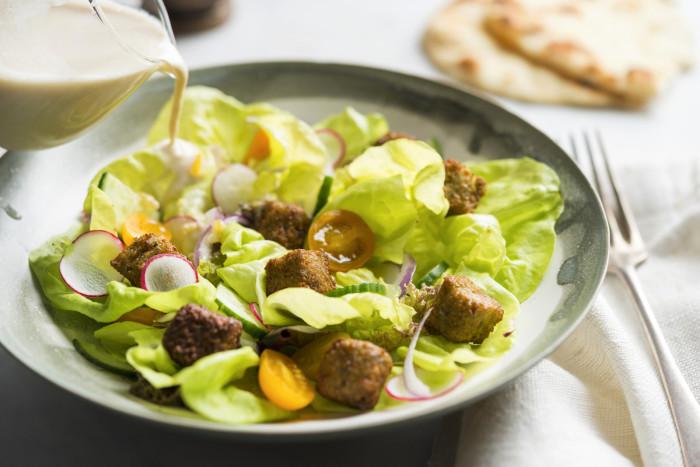 falafel crouton recipe