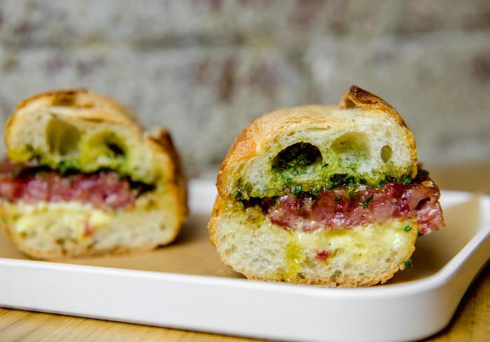 cotechino sausage sandwiches