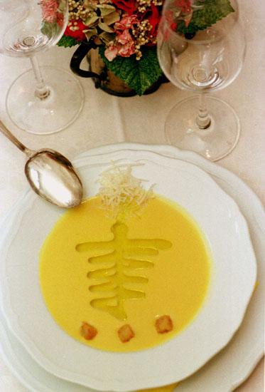 Fabio Picchi Cibreo passato di peperoni gialli