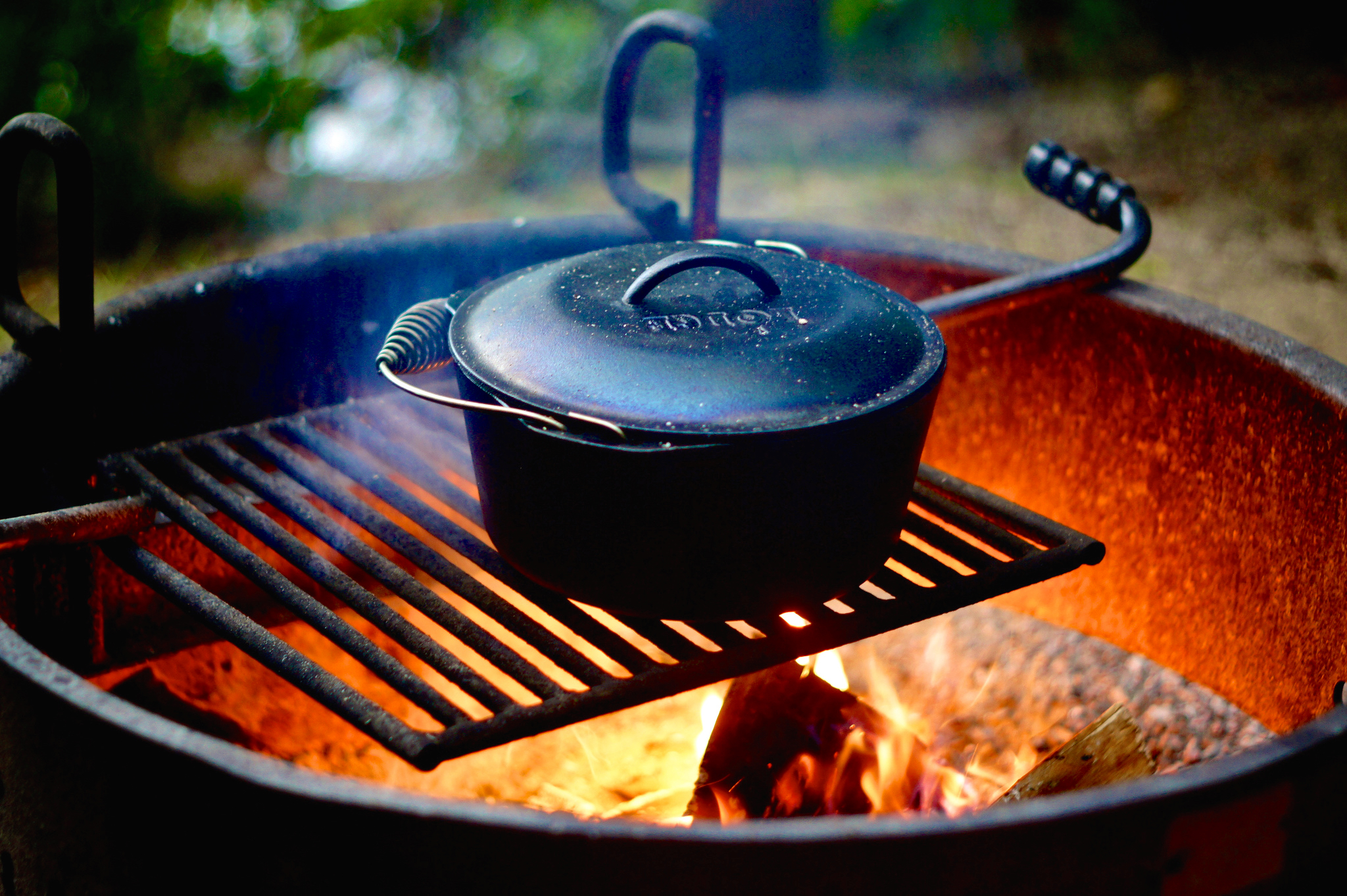 Camp Cooking, Hacked: Bring A Dutch Oven (And Very Little Else)