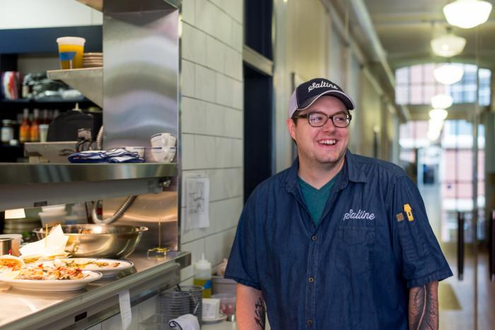 Chef Jesse Houston of Saltine
