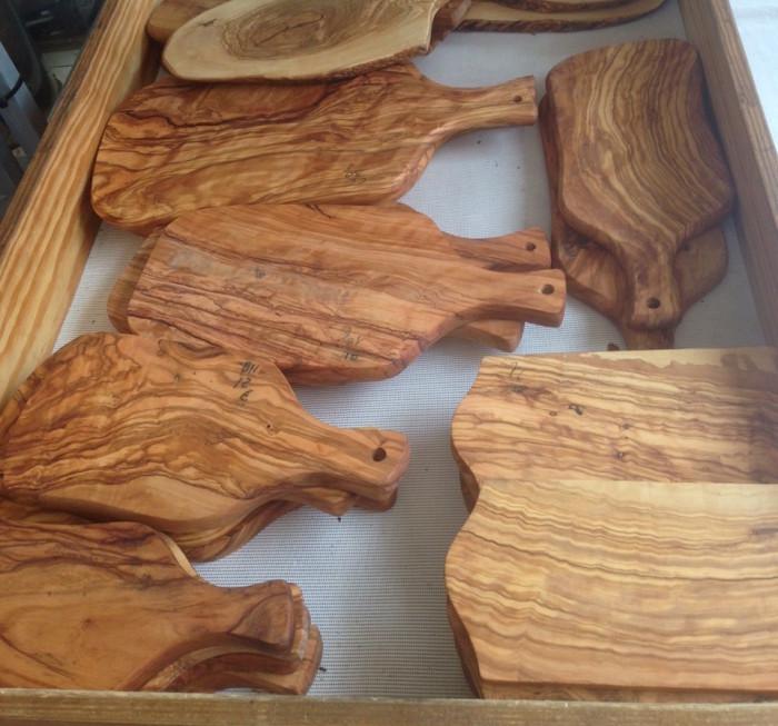 Olive Wood Boards Sineu Market