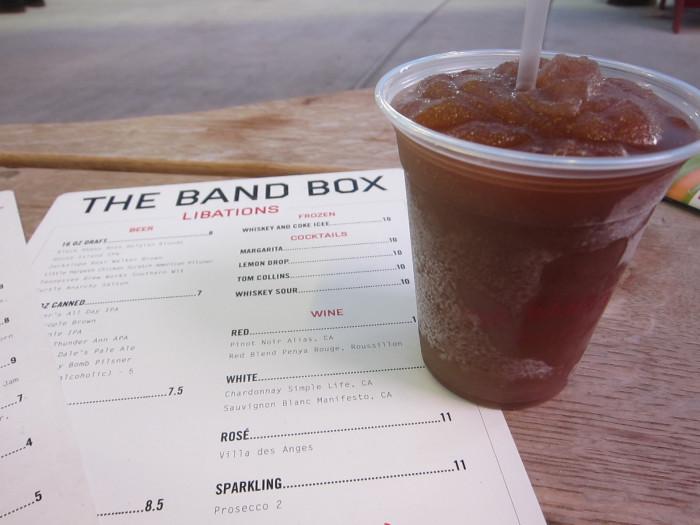 Band Box Frozen Coke