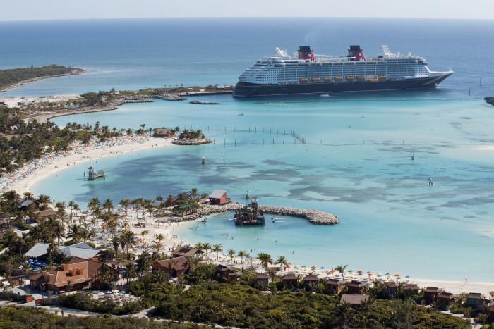 Castaway Cay, Disney's private Bahamas island. (Photo: Disney)