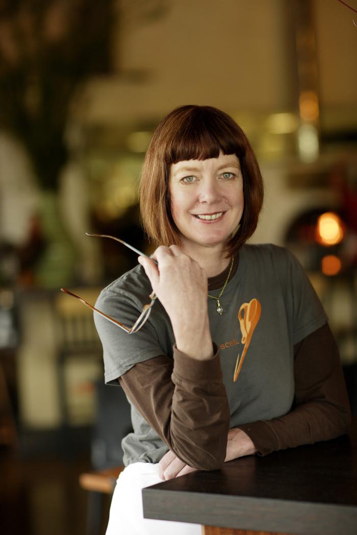 Chef Cathy Whims celebrates Nostrana's ten-year anniversary this month. (Photo credit: John Valls)