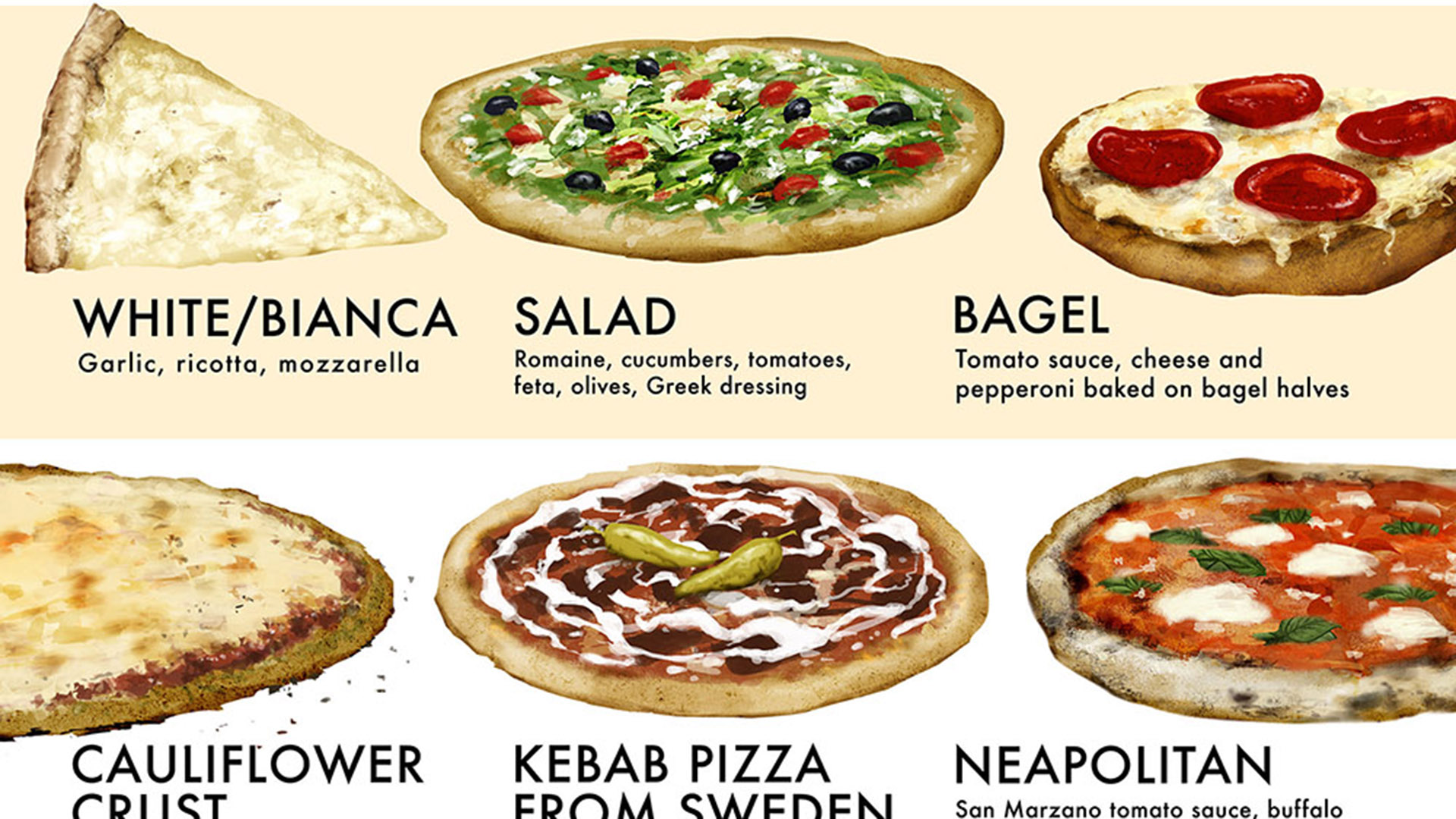 Have You Tried These 40 Types Of Pizza? - Food Republic