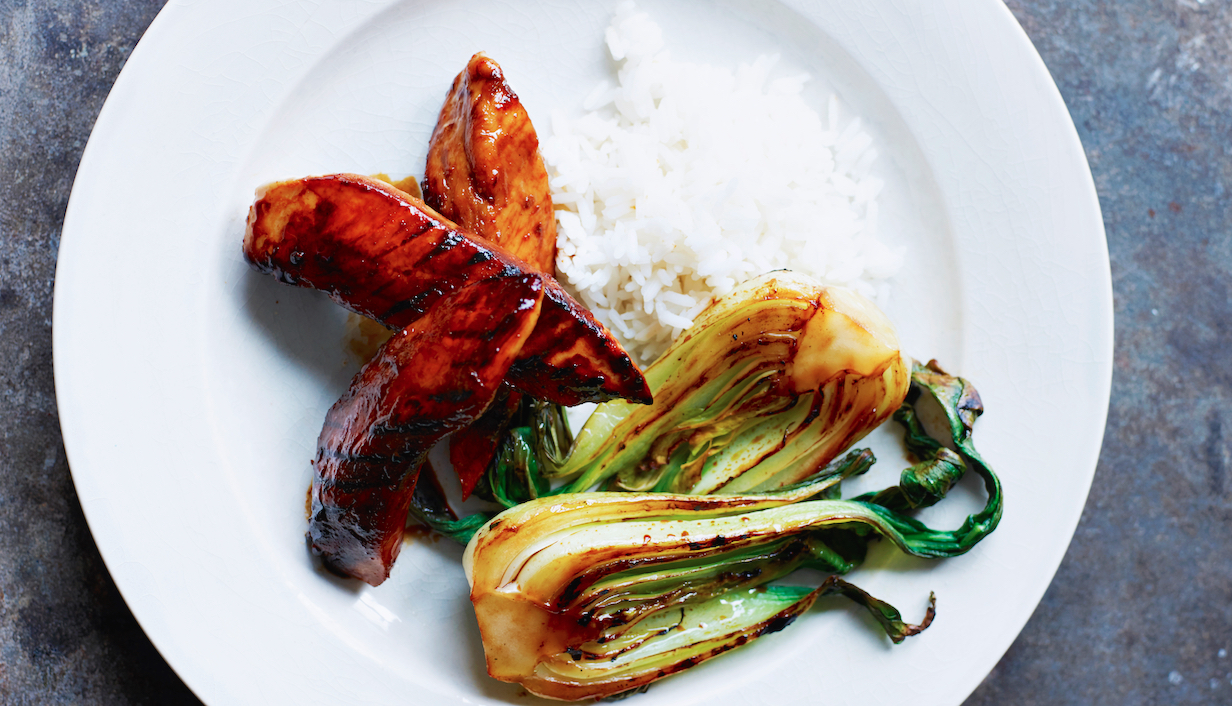 Quick Dinner: Grilled Miso Chicken With Bok Choy - Food Republic