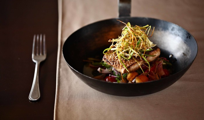 This pan fired line fish isn't the only treat at Kwandwe.