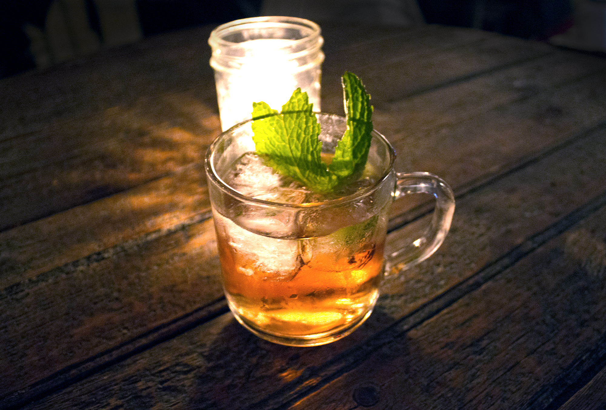 A Tropical Milk Punch Made With Cachaça And Habaneros ...