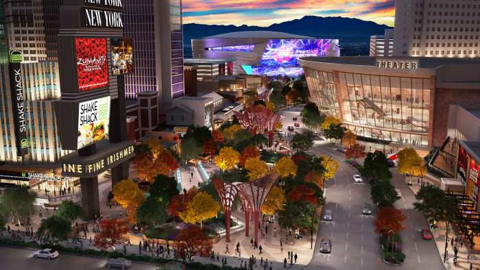 Monte Carlo Theater, The Park, Arena Rendering