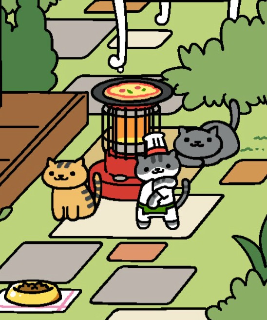 Guy Furry is the coolest cat in town and will make you a pizza.