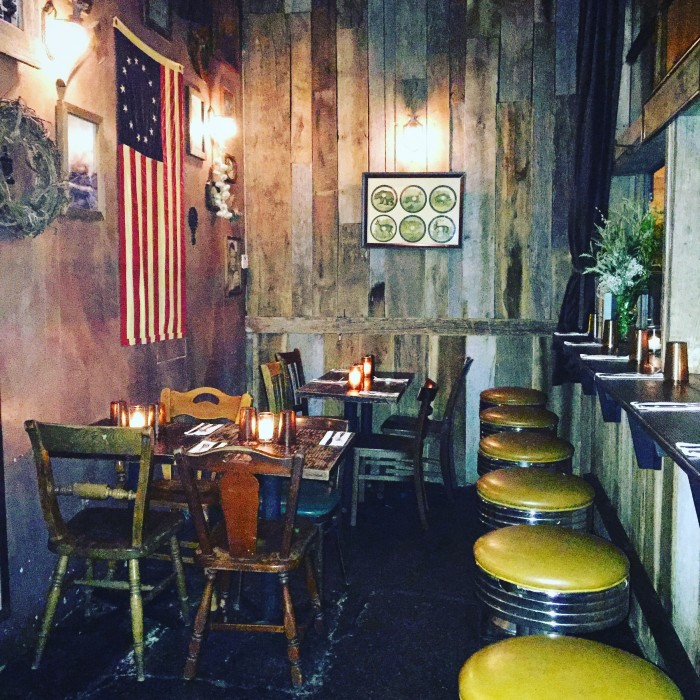 Lumberjack chic paired with Appalachian comfort food at Montana's Trail House might make your forget you're in the middle of Brooklyn.