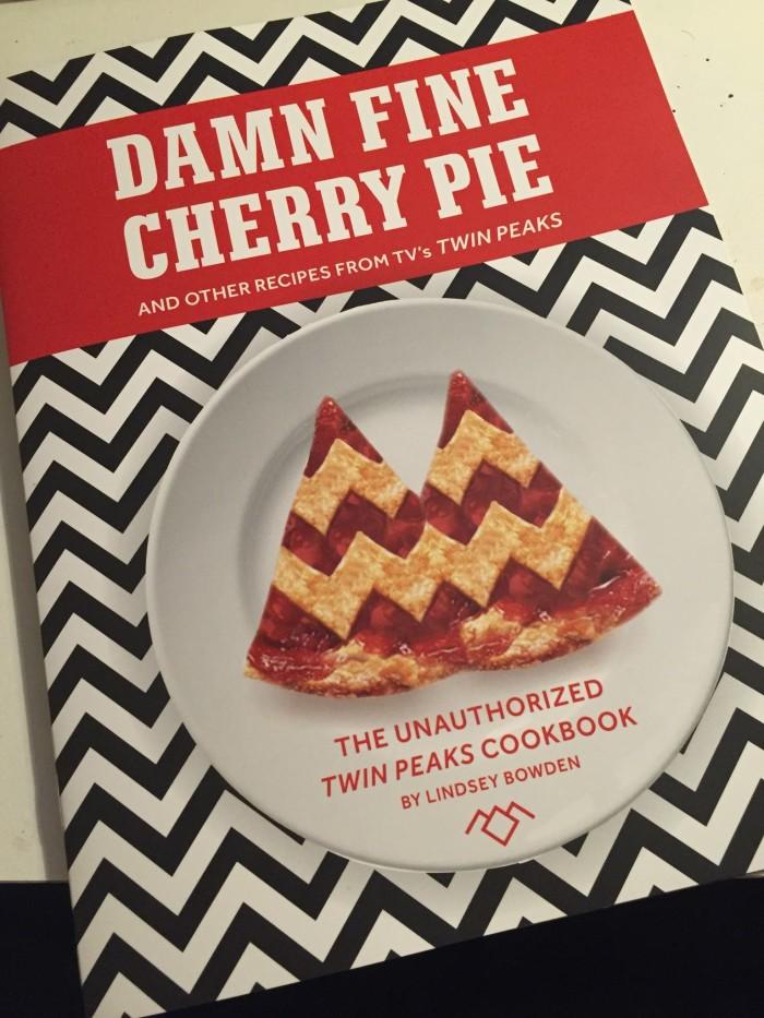 A damn fine cookbook, indeed. (Photo: Twin Peaks UK Festival/Facebook.)