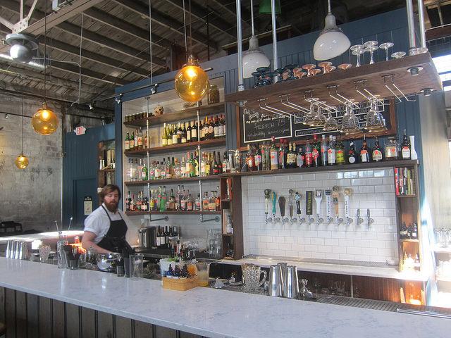 Buxton Hall bar