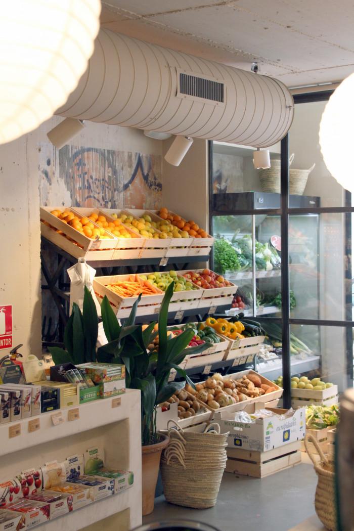 Woki Organic Market's success stems from Barcelona's food market culture.