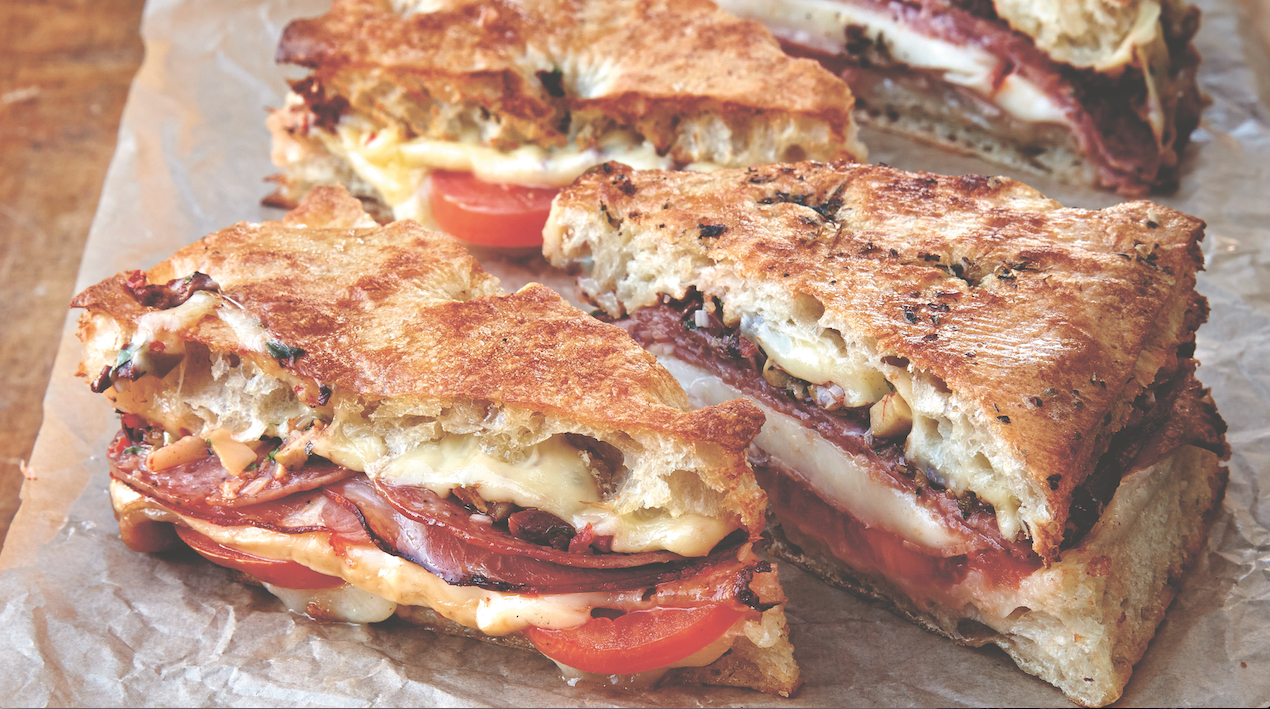 Do Lunch The Louisiana Way: Make This Muffaletta Grilled Cheese