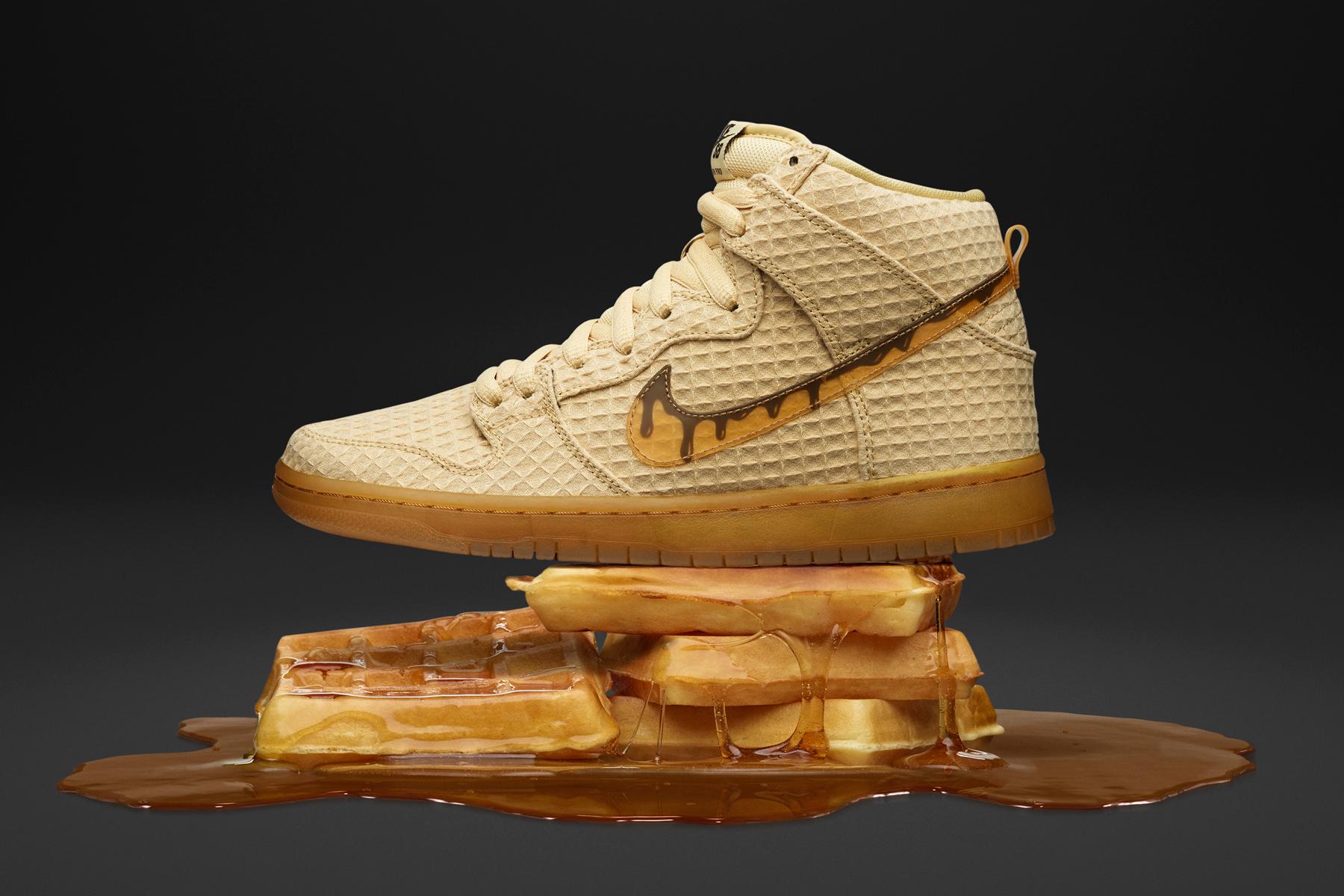Sneaker uit Sb And te een op punt brengen het Nike Tribute staat Chicken om Waffles 1ZwqanFU