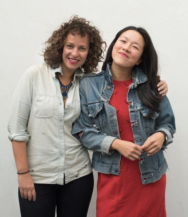 Amanda Dell (left) and Kimberly Chou. (Photo: Liz Clayman.)