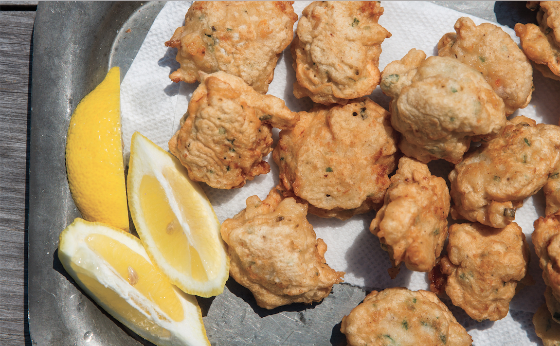 Image result for clam cakes